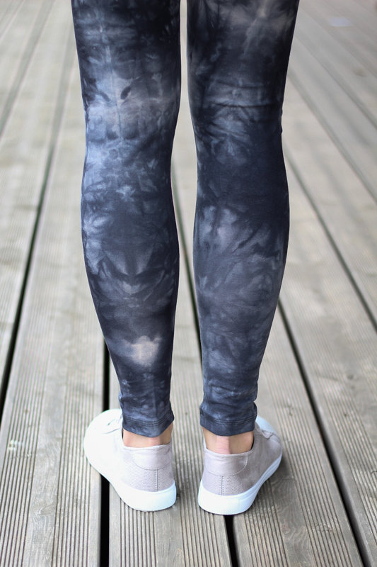 Dark grey  batik leggings